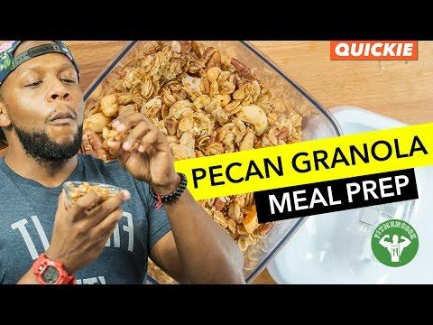 Spiced Pecan Granola Meal Prep / Granola Casera de Pecanas y Anacardos