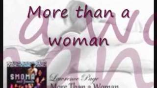 Lawrence Page - More Than A Woman still with lyrics