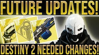 Destiny 2 Forsaken. LIST OF TOP CHANGES NEEDED IN DESTINY 2! (Black Armory DLC & Future Updates!)