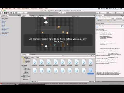 26- Unity 2D|| Reload game اعادة المرحلة