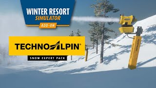 Winter Resort Simulator - TechnoAlpin - Snow Expert Pack