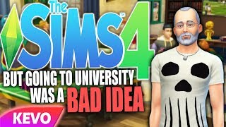 The Sims 4 but going to university was a bad idea