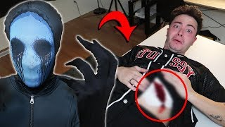 SUMMONING EYELESS JACK AT 3 AM CHALLENGE!! *HE DID THIS TO ME!!*