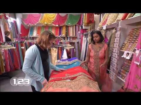 Sari-Geschäft Frankfurt bei 1, 2 oder 3
