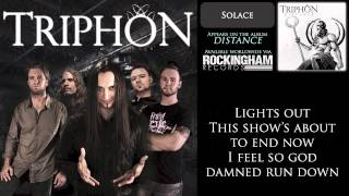 Triphon - Solace (lyrics)