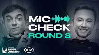 LEC : le Mic Check du Round 2 des Playoffs Spring Split 2020