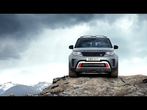 2019 Land Rover Discovery SVX. The Powerful Off-road Midsize SUV. Full Review.