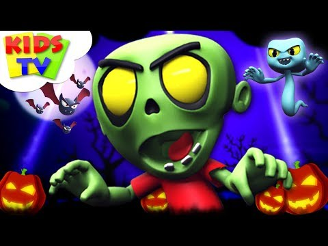 Hello It's Halloween | Halloween Songs For Kids + More Scary Rhymes by Kids TV