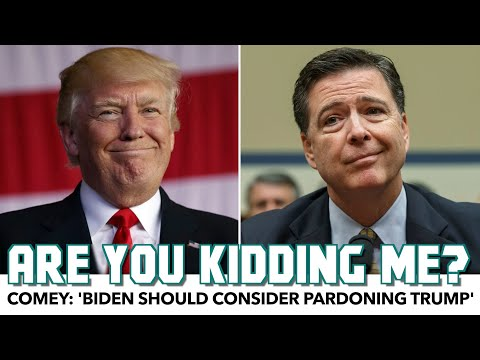James Comey Gives Biden The Worst Advice Imaginable