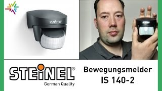 "Bewegungsmelder ""STEINEL IS 140-2"" [watt24-Video Nr. 17]"