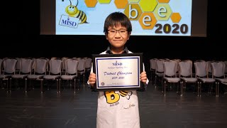 Fourth-Grader Named District Spelling Bee Champ