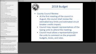 2017 Annual Budget And Legislation Workshop  Morning Session 5 31 2017