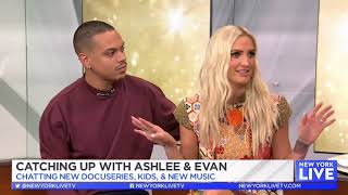 Ashlee Simpson Ross and Evan Ross Inteview at New York Live (20180904)