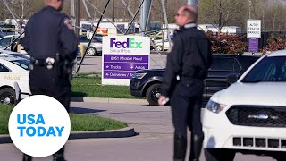 Officials hold news conference after shooting at FedEx facility in Indianapolis   USA Today