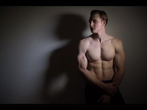 How to Photograph MEN - 3 lighting options