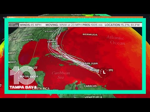 Potential Tropical Cyclone Nine forecast to become Tropical Storm Isaias today
