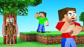 TROLLED By The HIDER! (Minecraft Hide & Seek)