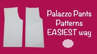 Palazzo Pants PATTERNS - SUPER EASY - Tutorial - Cloud Factory
