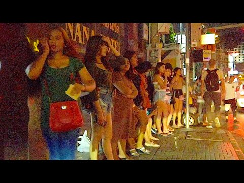 THAI FREELANCERS WAITING FOR CUSTOMERS | Nana Plaza Bangkok, Sukhumvit 4, Bangkok, Thailand