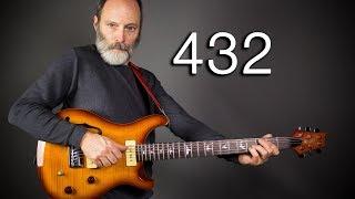 432Hz VS 440Hz - An Ambient Guitar Shootout!