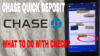 ✅  What To Write On Check After Chase Quick Deposit?  🔴