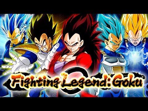 "This ALL VEGETA Team DESTROYED The ""Fighting Legend: Goku"" Event! | Dragon Ball Z Dokkan Battle"