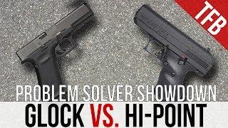 Glock vs. Hi-Point: The Problem Solver Showdown + Mud Test
