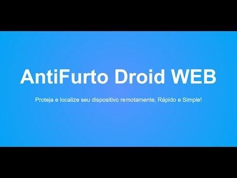Vídeo do Anti Furto Droid WEB