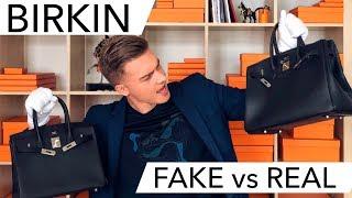 HERMES BIRKIN FAKE vs REAL?!  КАК ЛЕГКО ОТЛИЧИТЬ ПОДДЕЛЬНУЮ СУМКУ БИРКИН!!