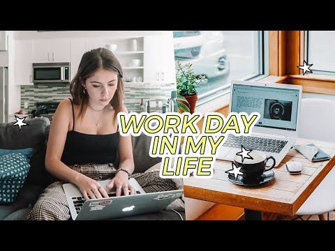 REAL WORK DAY IN MY LIFE in LA as a Freelance Social Media Manager! #FreelanceFriday