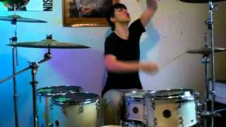 Max Oliver (16 years old) - Angels and Airwaves.  Atom Willard TRIBUTE VIDEO