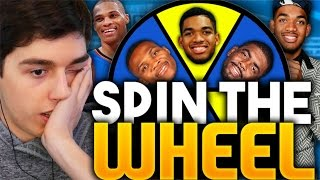 SPIN THE WHEEL OF TOP 5 NBA DRAFT PICKS! NBA 2K16 SQUAD BUILDER
