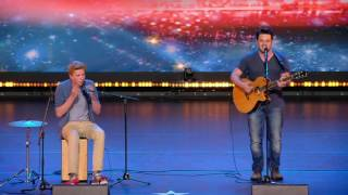 USUAL || Belgium's Got Talent 2016 || Young Street Performers Playing An Original Song
