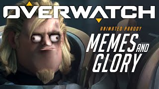 Overwatch Animated Short   Memes and Glory