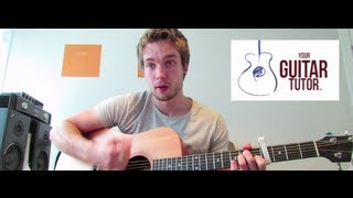 You're Nobody Til Somebody Loves You Guitar Chords by James Arthur