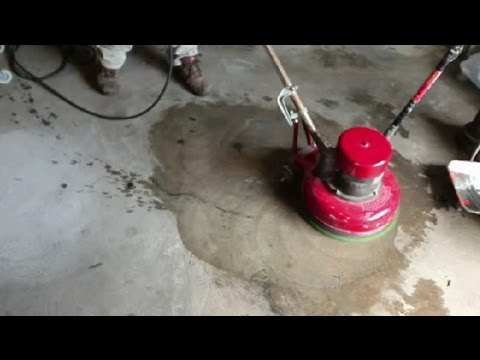 How to Remove Wax Buildup on Stained Floors : Concrete Floors