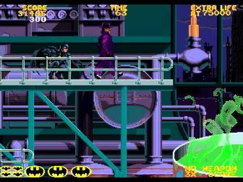 Batman (MAME) - Batman Vs Jack Napier- Vizzed.com GamePlay