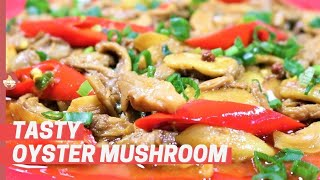 My Mum´s recipe Oyster Mushroom