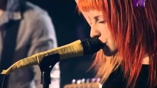 Paramore - CrushCrushCrush (Live On MTV's The Lair)