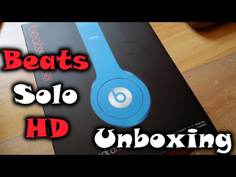 Beats by Dr. Dre Solo HD - Unboxing [DEUTSCH] + Vergleich mit günstigeren Kopfhörern