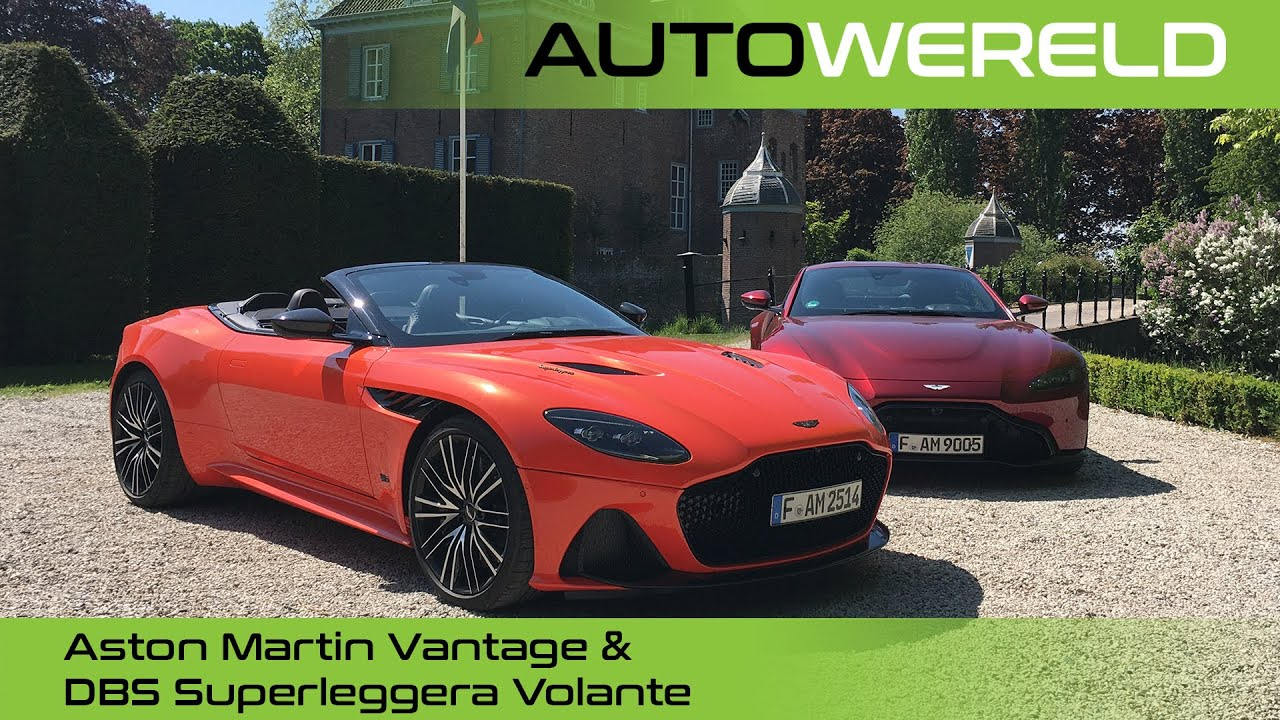 Aston Martin Vantage & DBS Superleggera Volante – met Tom Coronel en Andreas Pol