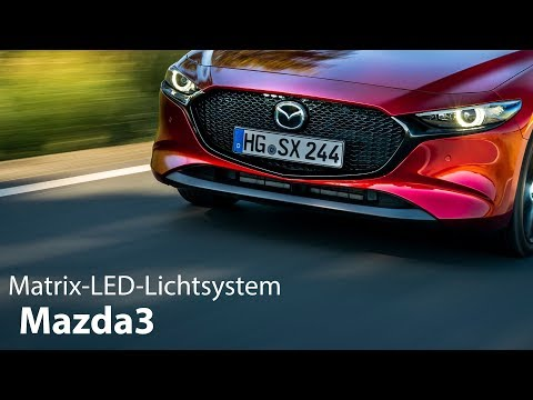 Mazda3 Matrix-LED-Lichtsystem Test [4K] - Autophorie