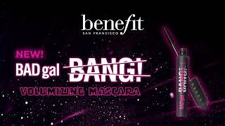 BADgal BANG! 36 HOUR* FULL-BLAST volumizing mascara creates MASSIVE volume without weighing down lashes.