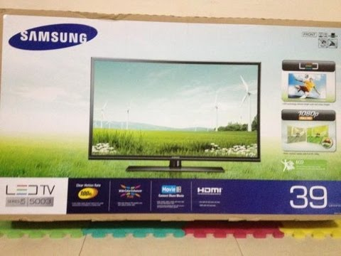 Unboxing // Samsung LED TV 39