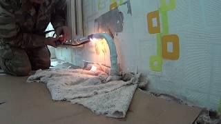 Газосварка  Один день сварщика (ЖКХ) Gas welding One day welder