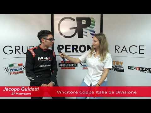 COPPA ITALIA TURISMO - la parola al CAMPIONE 1° Div. 2019: JACOPO GUIDETTI