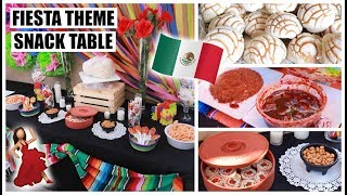 EASY FIESTA THEME PARTY TABLE | Marie Jay