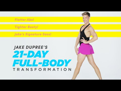 Introducing Jake DuPree's 21-Day Full-Body Transformation