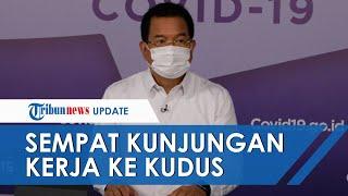 Positif Terpapar Covid-19, Wiku Adisasmito Sempat Lakukan Kunjungan Kerja ke Kudus dan Bangkalan
