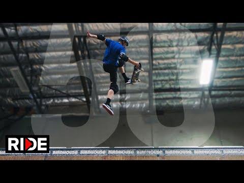 Legendary Skateboarder Tony Hawk Does 50 Tricks After Turning 50